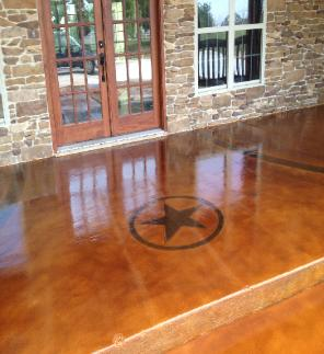 Acid Concrete Staining Overlay Amp Commercial Epoxy Gallery